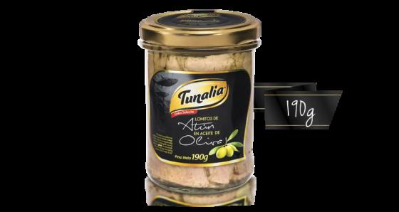 tunalia-lomitos de atun en aceite de oliva